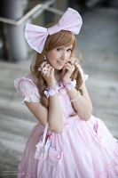 Angelic Pretty Dream Dress by white---butterfly