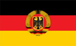 alternative Flag for a united germany unity Day by Mikewildt