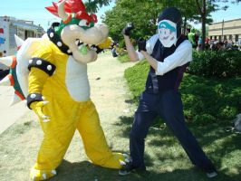 Weegee sappin' mah Bowser by StephySkittles