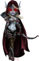 Sylvanas Windrunner by Odyrah