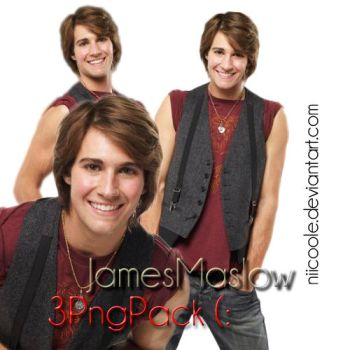 James Maslow PNG's by niicoole