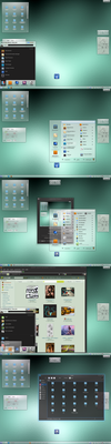 Suse 12.1 screenshot by Pulicoti