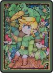 Minish Cap Stained Glass by MichelleWalker