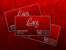 Laky business card by CharlieGraphics