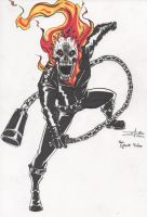 THE GHOST RIDER by artdan24