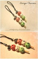 Dango Charms by whitefrosty