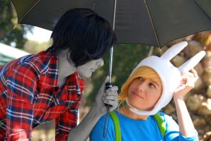Fionna and Marshal by GracefulGlider