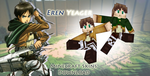 [Skin pack] Eren Yeager [Minecraft] by soujis