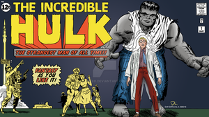 The Incredible Hulk HD Wallpaper Updated by DolfD