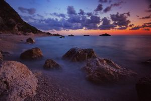 Magical Greek coast by Kounelli1