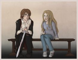 Neville and Luna by Loony-Lucy