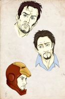 Tony sketches - colors by frafru