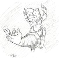 Galactus and Surfer by candlehat