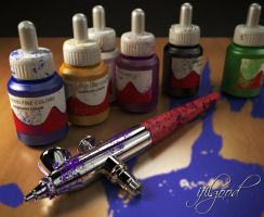 Paasche Vjr Airbrush by ifilgood