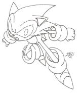 Sonic Ink by DSJax