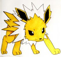 Jolteon by LolittaBarista