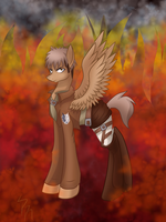 Attack on Titan Jean MLP by KodokunaShiroiOkami