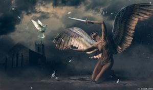 Blind Angel II by vimark