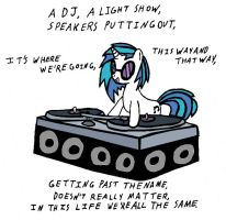 VinylScratch:Another Night Out by Closer-To-The-Sun