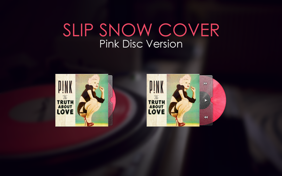 Slip Snow Cover Pink Disc by whimsy3sh