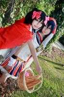 Love Live! - Fairy Tale Nico x Umi by Xeno-Photography