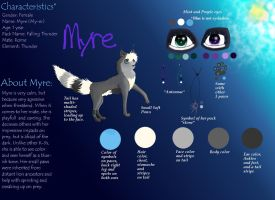 Myre Ref Sheet by OreoThePenguin