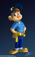 Fix-it Felix Jr. by Slasher12
