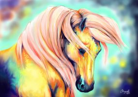 Fantasy Andalusian Horse by PERNicious-1