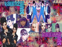 Kaulitz twins by niicoole