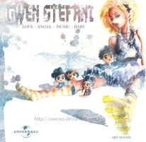 Gwen Stefani CD Cover by Essency