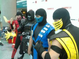 Anime expo 2011 day 2 MK ninja by Kayobreaker