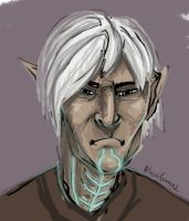 Fenris the angsty porcupine by BlueReptile
