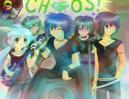 CHAOS! (Gijinka) by Sweetcorn-chan