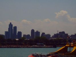 City Horizon of Chicago by NationalMind