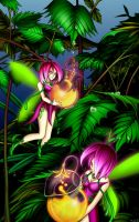 Green Fairies by blackorb00
