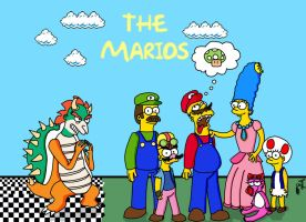 The Marios by kaddar