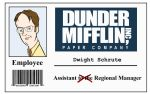 Dunder Mifflin I.D by Oddabeish
