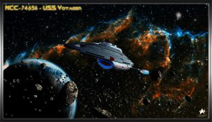 NCC-74656 USS Voyager by MotoTsume