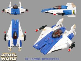 RZ-1 A-Wing by Scharnvirk