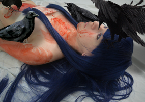 Rika Furude: A Beautiful Death by thecreatorscreations