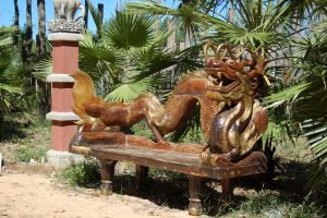 Dragon Bench 1 by SalsolaStock