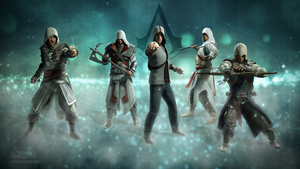 Assassin's Creed All-Stars by BMFreed