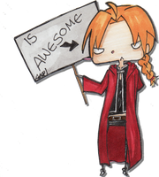 ed is awesome by AnimeFace