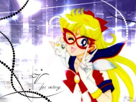 Sailor V :: V for victory by Cosmos-chan