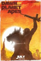 Dawn of the Planet of the Apes by DanieleRedRossini