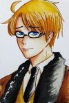 APH - America in Angsty mode by SoybeanMil
