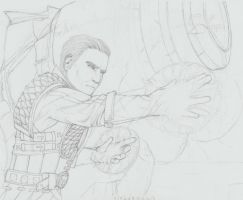 Khadgar Sketch03 2015 by Zeta-0