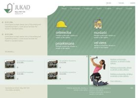 Web design for company JUKAD by gatisatmixlv
