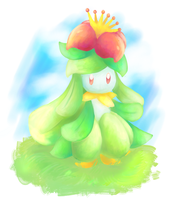 lilligant by Aruesso