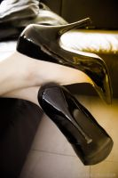 High Heel Reflections - Dreamy New Look Pumps by Askarys
